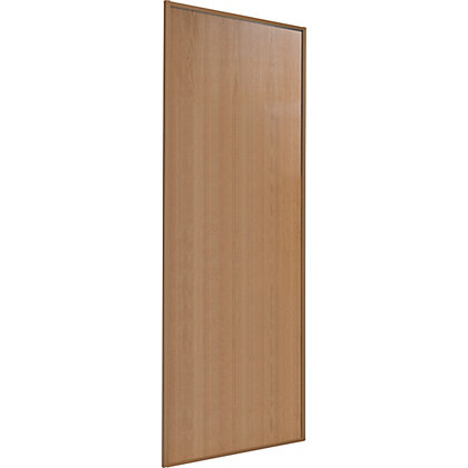 Image for Classic Wood Windsor Oak Frame and Panel Sliding Door - 610mm from StoreName