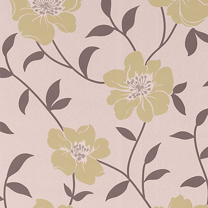 Image for Fresco Lucie Wallpaper - Green from StoreName