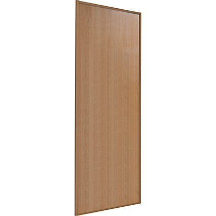 Image for Classic Wood Windsor Oak Frame and Panel Sliding Door - 762mm from StoreName
