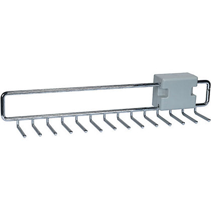Image for Schreiber Tie Rail - Chrome from StoreName