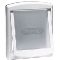 Staywell Medium 2-Way Pet Door - White