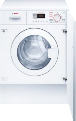 Image of Bosch WKD28350GB Automatic Washer Dryer - White.