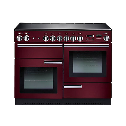 Image for Rangemaster 91890 Professional Plus 110cm Range Cooker - Cranberry from StoreName