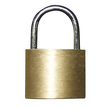 Value Brass Padlock 20mm