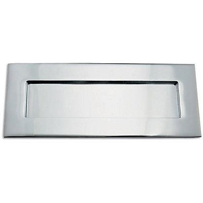 Image for Letter Plate - Polished Chrome - 254 x 102mm from StoreName
