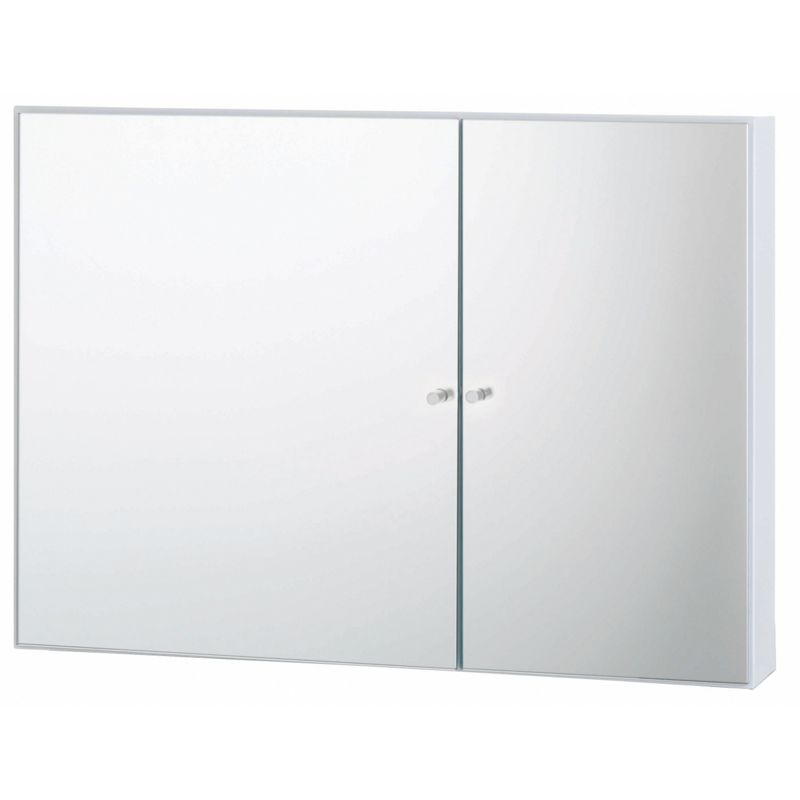 from stainless steel habitat kaya white double door bathroom cabinet