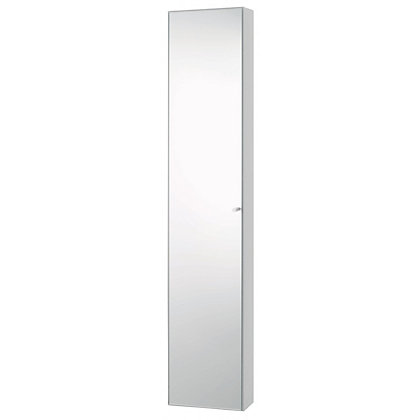 habitat kaya tall door bathroom cabinet white
