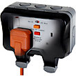 BG Twin 13A Weatherproof Socket - IP66 Rated