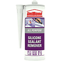Remove bathroom caulk - Unibond Silicone Sealant Remover Translucent 150 Ml