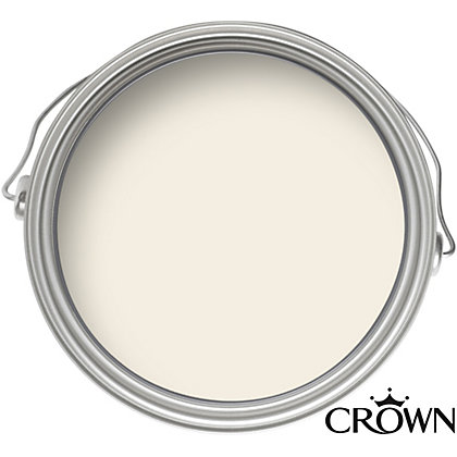 Image for Crown Breatheasy Solo Cream White - One Coat Matt Emulsion Paint - 2.5L from StoreName