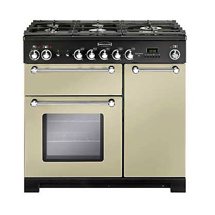Image for Rangemaster Kitchener 81440 90cm Dual Fuel Cooker - Cream from StoreName