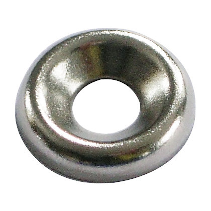 Image for Screw Cup Washer - Nickel Plated - 4mm - 20 Pack from StoreName