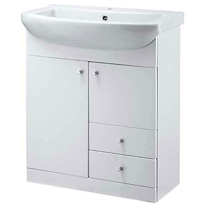 Image for Buxton Vanity Unit with 1 Tap Hole Ceramic Basin - 750 from StoreName