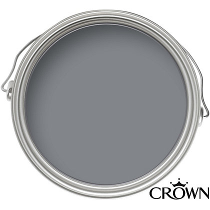 Image for Crown Breatheasy Solo Smoulder - One Coat Matt Emulsion Paint - 2.5L from StoreName