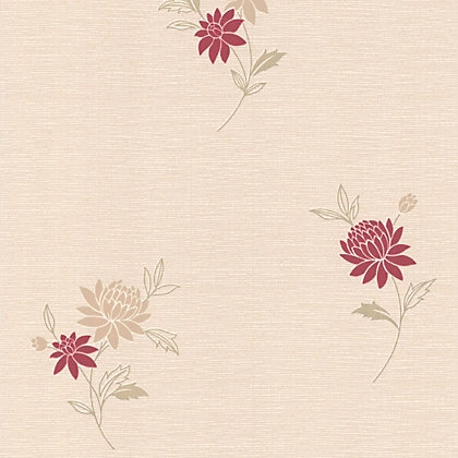 Image for Superfresco Rosalyn Wallpaper - Red from StoreName