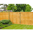 Forest Lap Fence Panel - 6x5ft