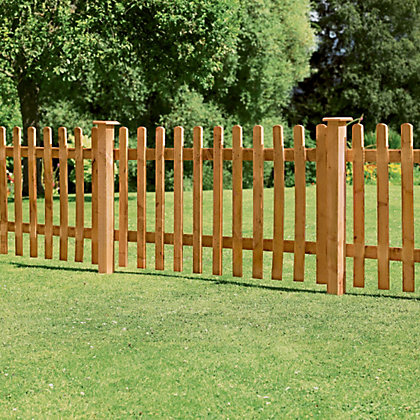 Image for Forest Larchlap Pale 0.9m Fence Panel - Pack of 1 from StoreName