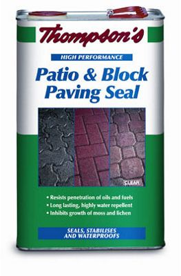 Thompsons Clear Patio Block and Paving Seal - 5L