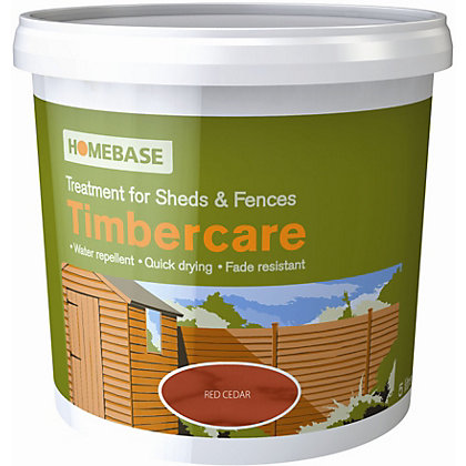 Image for Homebase Timbercare Red Cedar - 9L from StoreName