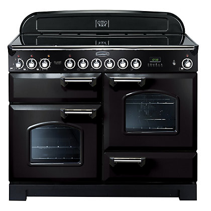 Image for Rangemaster Classic Deluxe 81320 110cm Electric Ceramic Cooker - Black from StoreName