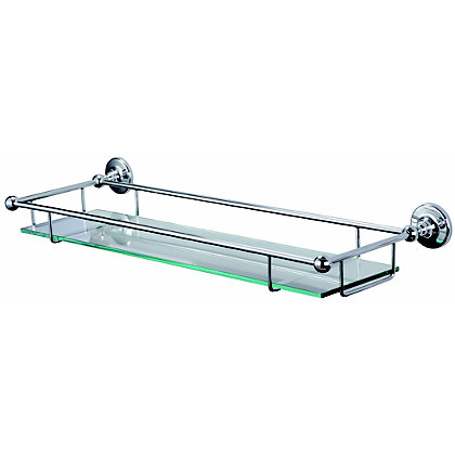 Image for Vermont Bathroom Glass Shelf from StoreName
