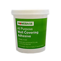 Homebase Ready Mixed Wallpaper Adhesive - 1kg