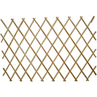 Image for wooden expanding trellis natural 1 8x0 9m from storename