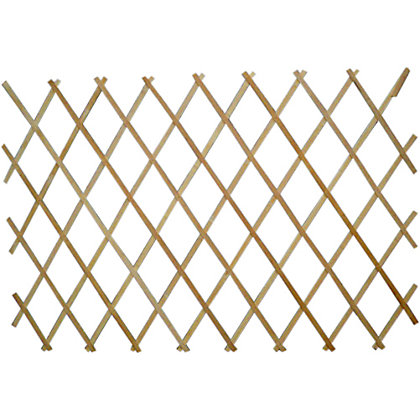 Image for Wooden Expanding Trellis - Natural - 1.8x0.9m from StoreName