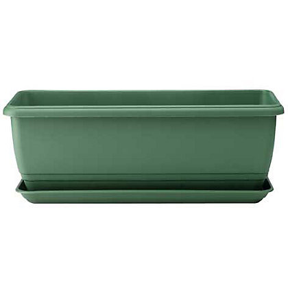 Image for Self Watering Green Balconniere Troughs - 50cm from StoreName