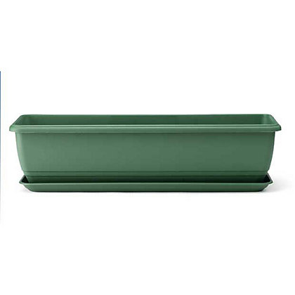 Image for Self Watering Green Balconniere Troughs - 70cm from StoreName