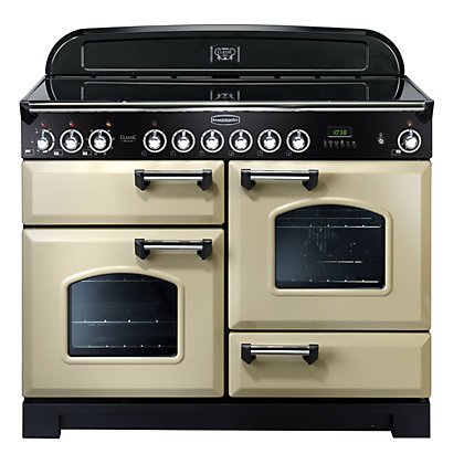 Image for Rangemaster Classic Deluxe 81330 110cm Electric Ceramic Cooker - Cream from StoreName