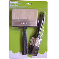Homebase Value Paint & Emulsion Brush Set - 4 pack