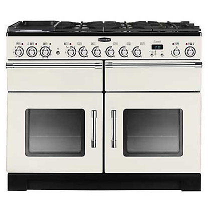 Image for Rangemaster Excel 80530 110cm Dual Fuel Cooker - Ivory & Chrome from StoreName