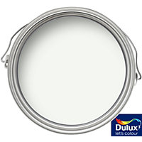 Dulux Quick Dry Absolute White - Satinwood Paint - 750ml