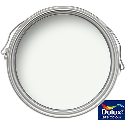 Image for Dulux Quick Dry Absolute White - Satinwood Paint - 750ml from StoreName