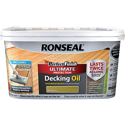 Image for Ronseal Perfect Finish Ultimate Decking Oil - Natural from StoreName