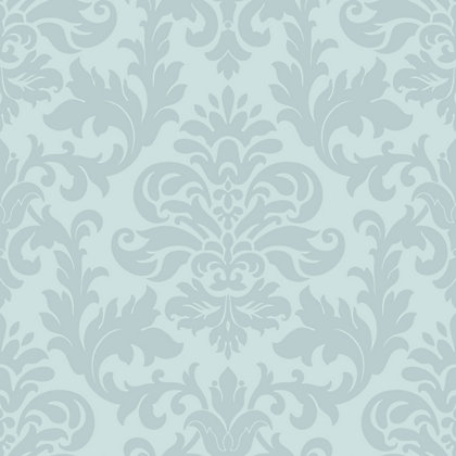 Rasch glitter damask wallpaper duck egg for Wallpaper homebase