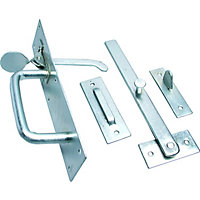 Suffolk Gate Latch Zinc Plated