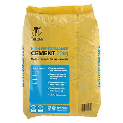 Image for High Performance Cement - 20kg from StoreName