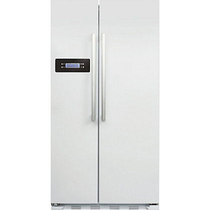 Image for CDA PC50WH American Style Side By Side Fridge Freezer - White from StoreName