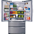 CDA PC87SC American Style Fridge Freezer - Stainless Colour