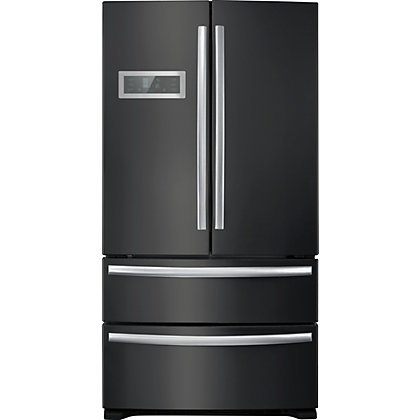 Image for CDA PC87Bl American Style 2 Type of door Fridge 2 Drawer Freezer- Black from StoreName