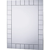 Mosaic Rectangular Bathroom Mirror.