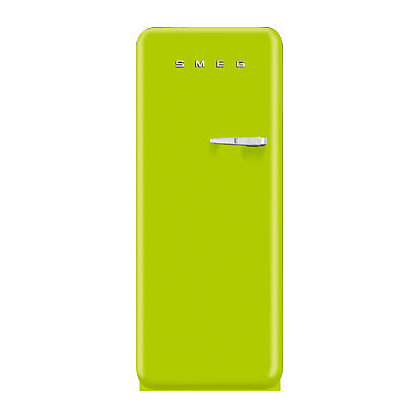 Image for Smeg FAB28YVE1 Left Hand Hinged Fridge with Ice Box -Lime Green from StoreName