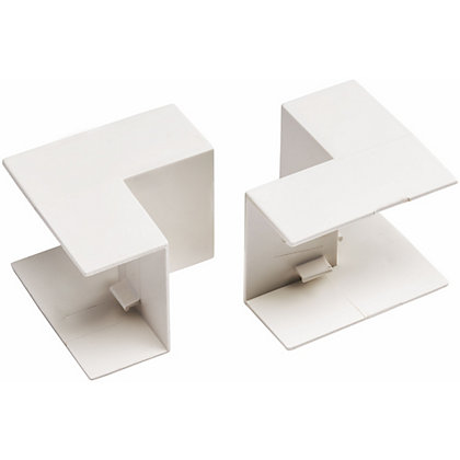 Image for Schneider INS20123 Electric Mini Trunking INSide Angles - White - 25x16mm from StoreName