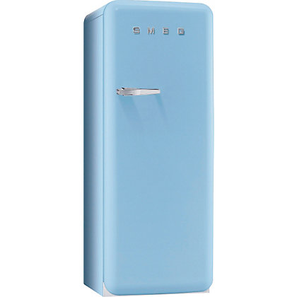 Image for Smeg FAB28QAZ1 Right Hand Hinged Fridge with Ice Box - Pastel Blue from StoreName