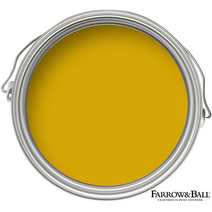 Image for Farrow & Ball Estate No.66 India Yellow - Matt Emulsion Paint - 2.5L from StoreName