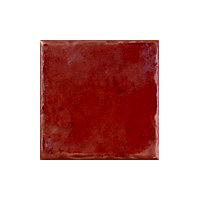 Cotswold Satin Wall Tiles - Terracotta - 100 x 100mm - 25 pack
