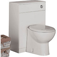 Buxton Freestanding Toilet Unit and Back to Wall Pan