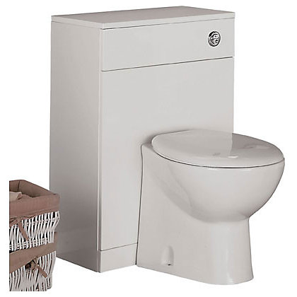Image for Buxton Freestanding Toilet Unit and Back to Wall Pan from StoreName